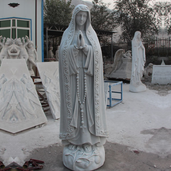 Outdoor Catholic Our Lady of Fatima Saint Garden Statues for Sale TCH-01