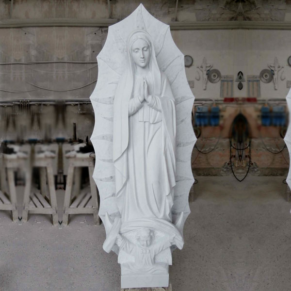 Catholic marble Our Lady of Guadalupe statues online