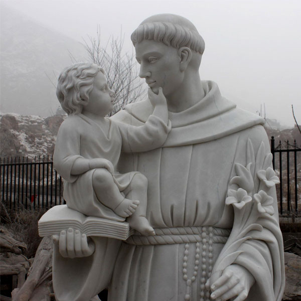 Catholic saint statues of Anthony outdoor for sale from churches details