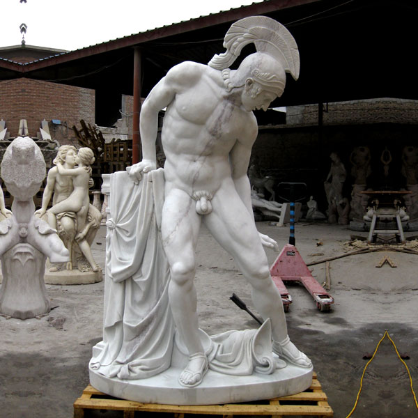 Famous art God of war Ares statues marble replicaFamous art God of war Ares statues marble replica