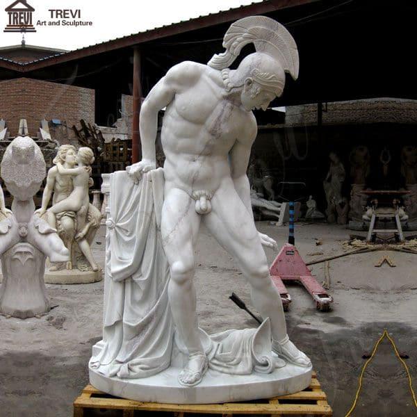 Life Size Ares War God Marble Garden Statue for Sale MOKK-81