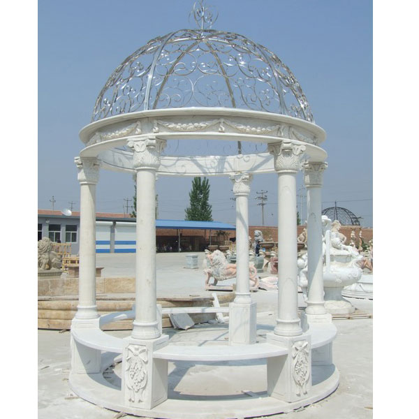 Round pavilion for backyard ornament outdoor decor TMG-11