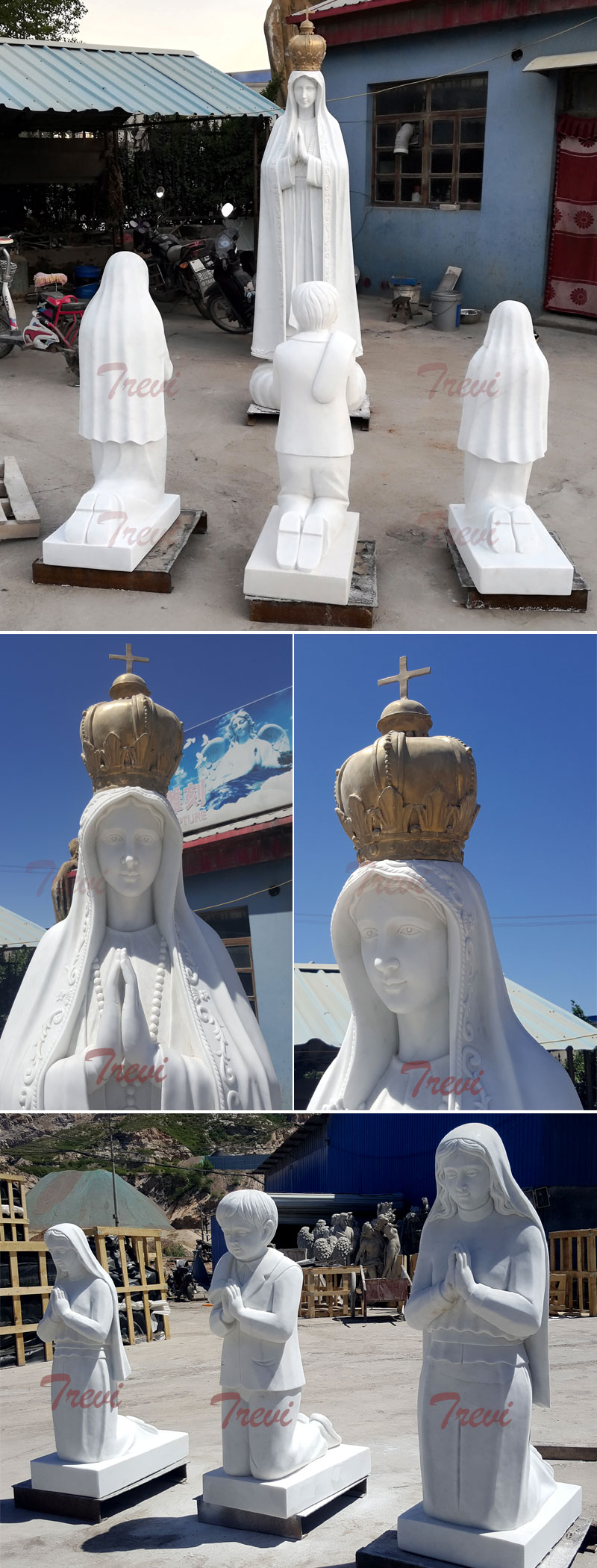 3 children and Fatima for catholic church design on sale details
