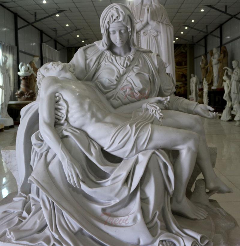 Church religious garden statues of Michelangelo's Pieta online designs