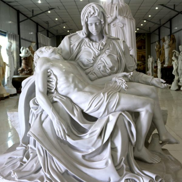 Church religious garden statues of Michelangelo's Pieta online sale TCH-48