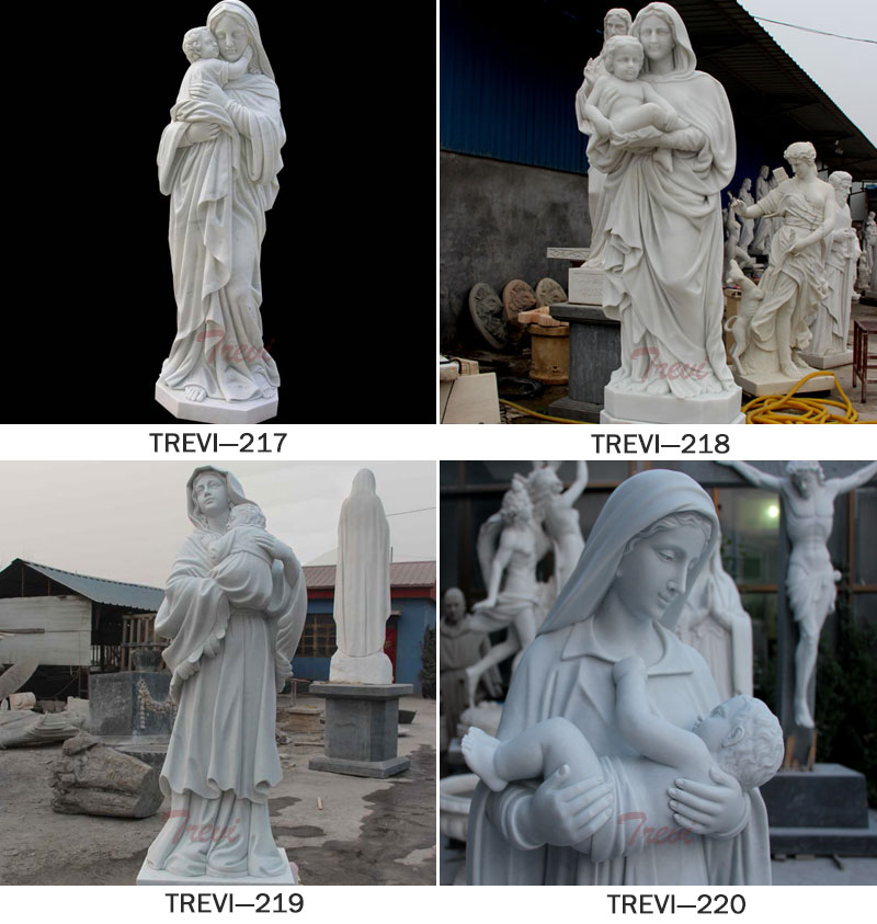 Catholic statues of madonna and child garden statue designs