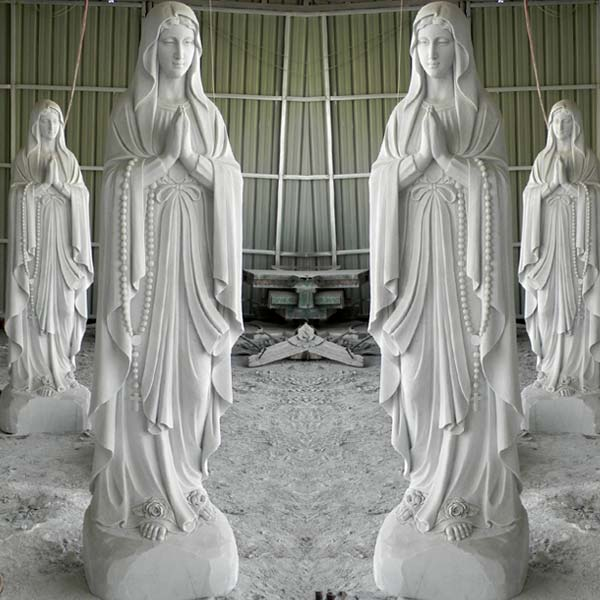 Our lady of Lourdes blessed mother catholic garden statues for sale TCH-61