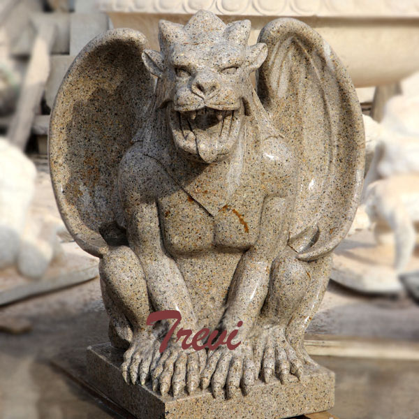 Outdoor stone garden gargoyles statues for sale