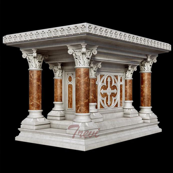 Buy Modern Marble Altar Table Designs for Church Decoration TCH-115