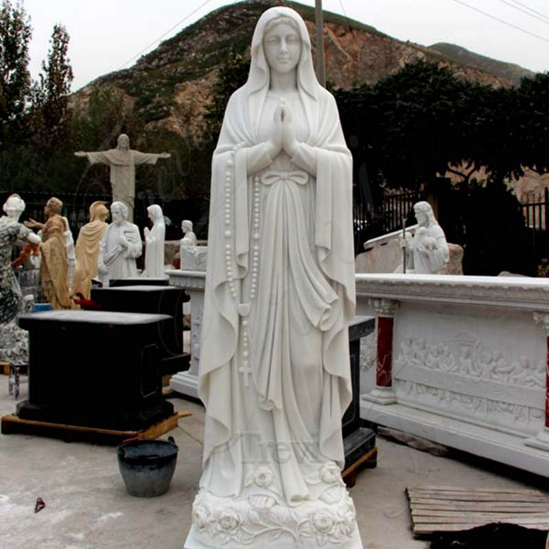 Catholic-garden-statues-and-decor-our-lady-of-lourdes-for-sale