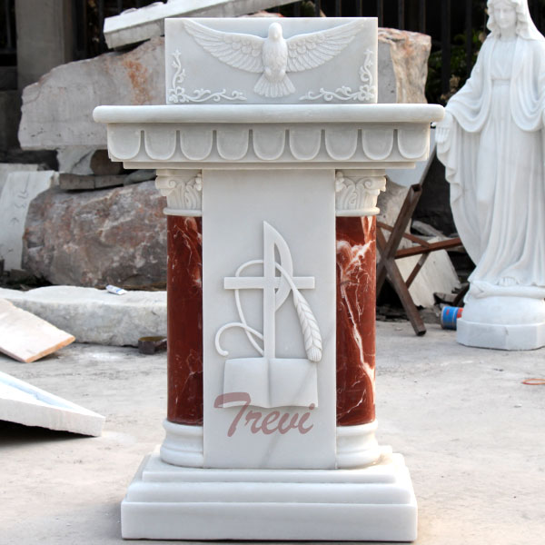 Classical church lecterns and pulpits marble furniture for sale