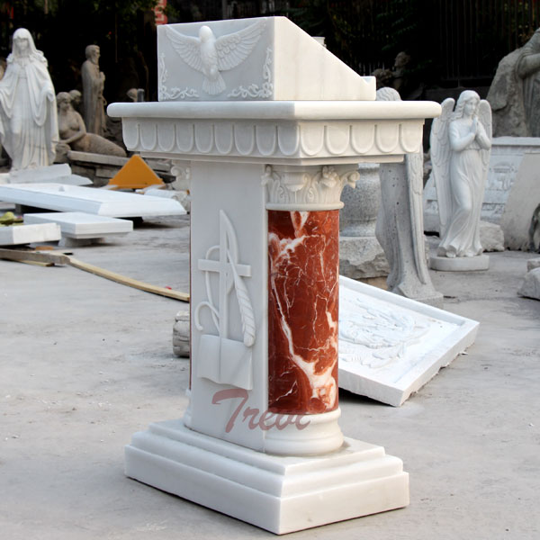 Classical church lecterns and pulpits marble furnitures for sale