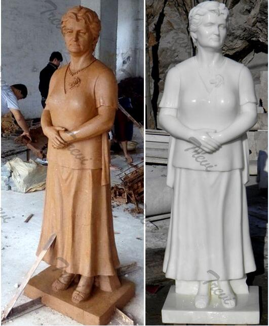 Custom marble photo marble statues of yourself costs for sale