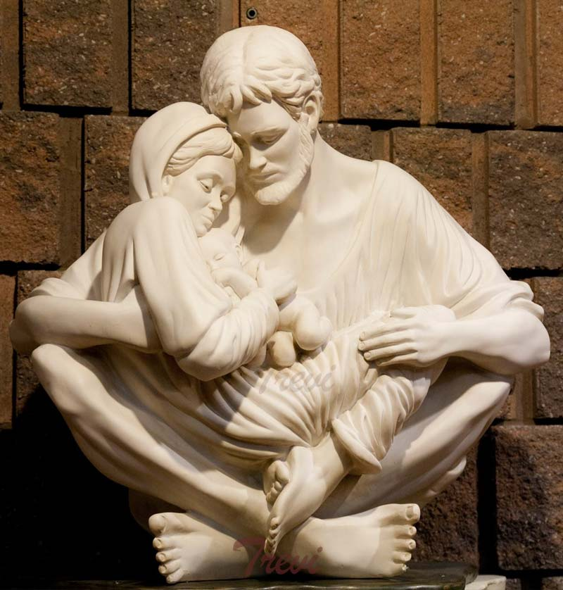 Holy family garden statue a quiet moment replica for sale