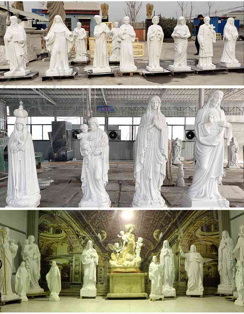 Religious Garden Marble Statues of Large Christ Jesus for Catholic Church Decor