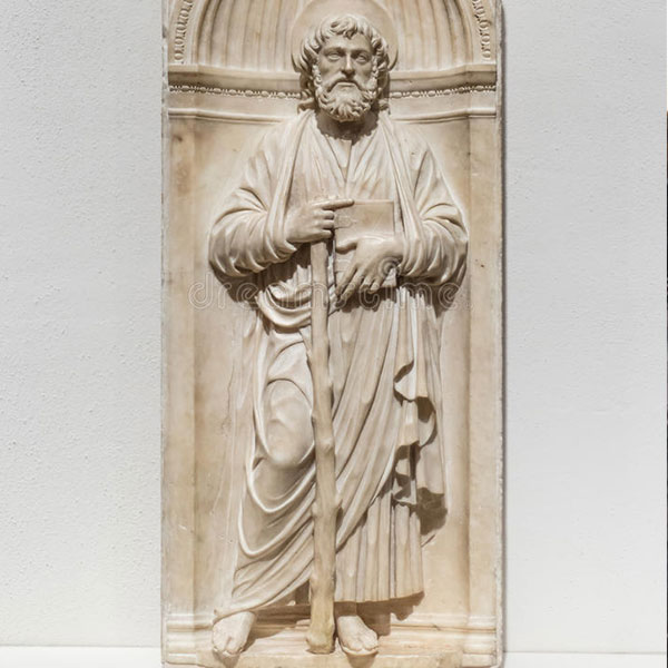 Saint james statues for catholic church garden decor