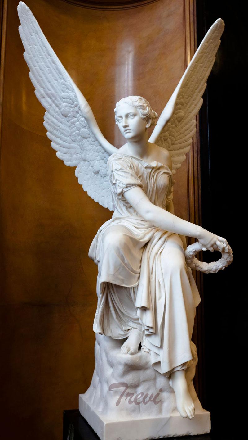 Bernini life size angel garden statues replica