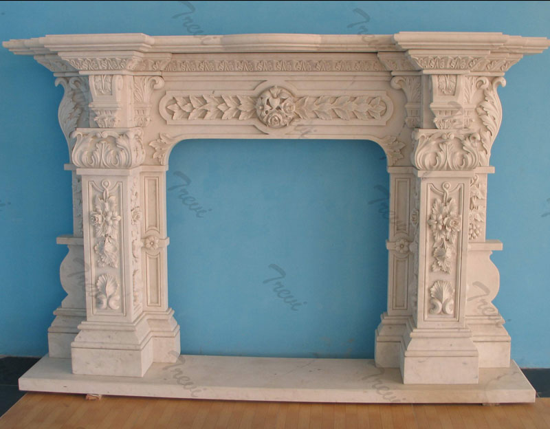 Home depot white marble decorative fireplace mantel shelf designs near me