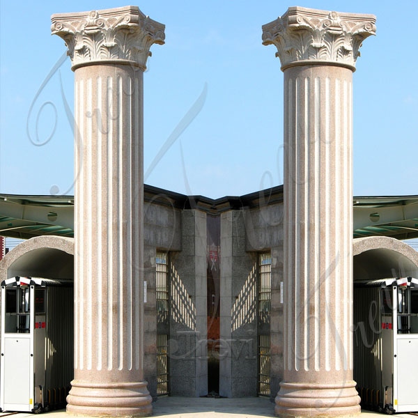 Modern large round support architectural columns for porch TMC-10