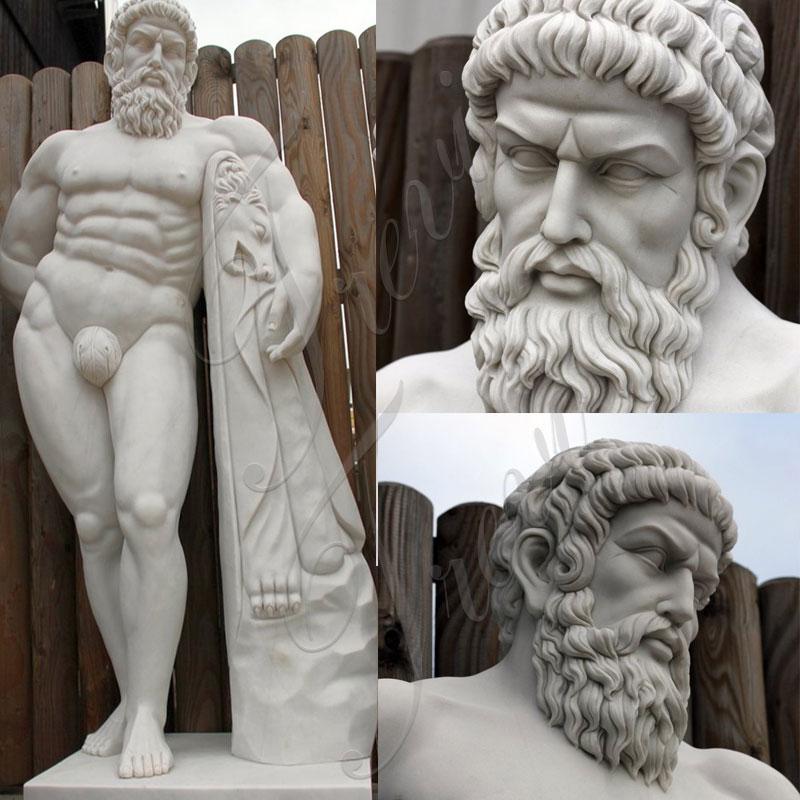 Outdoor-ourdoor-life-size-marble-Hercules-statues-for-garden