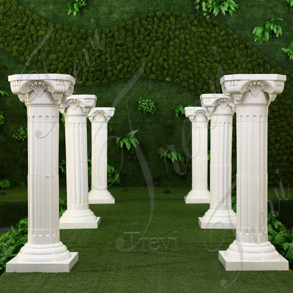 Roman Decoration Marble Columns and Pillars for Sale TMC-07