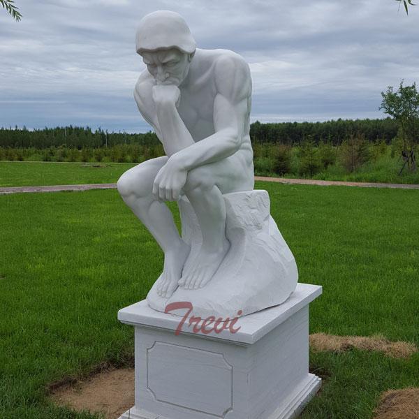 The thinker garden statues rodin replica for sale