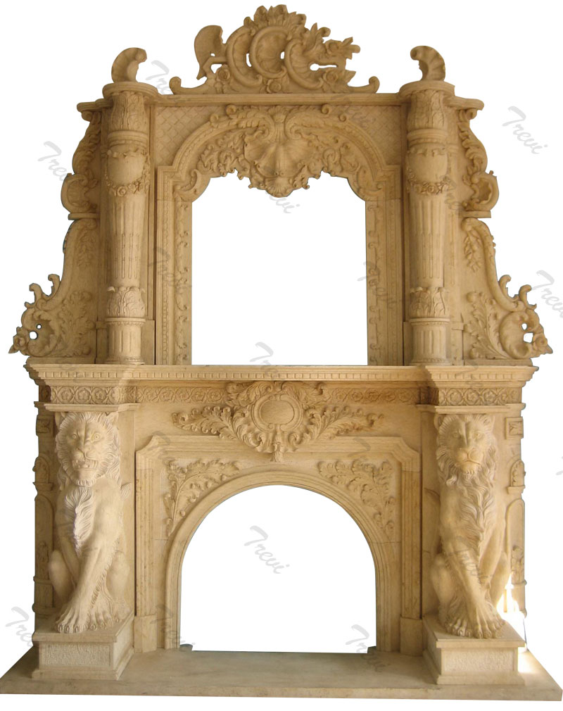 Victorian antique marble carved fireplace with overmantle home depot for sale