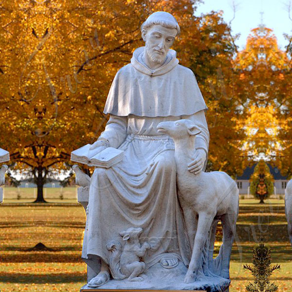 Where to buy saint francis of assisi outdoor lawn statues for garden decor