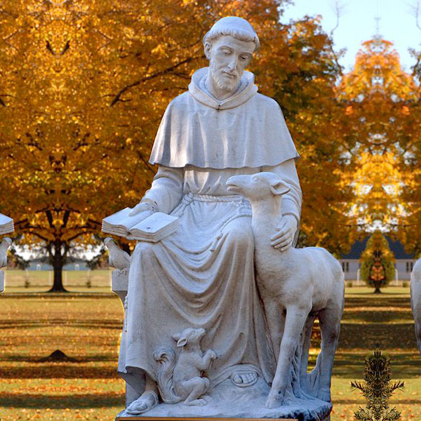 Where to buy saint francis of assisi outdoor lawn statues for garden