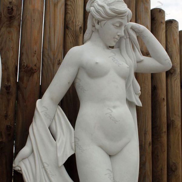 Charming of naked statues