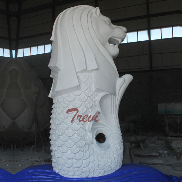 Outdoor large sea lion singapore merlin statues replica for sale TMA-27