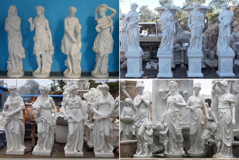 TMC-42 outdoor-garden-four-season-statue