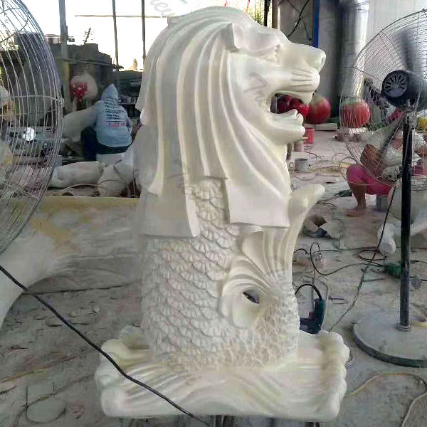 Where to buy singapore merlion lion fish statues replica for outdoor home garden decor