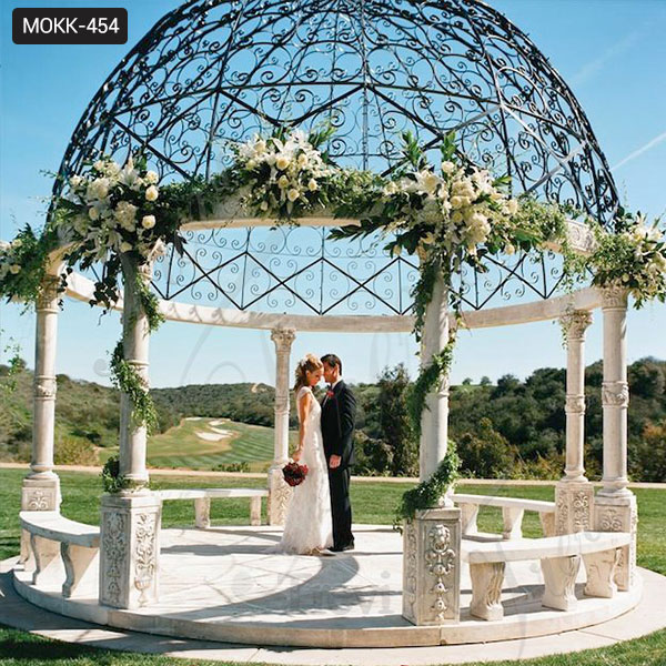 Gazebo Designs Pictures for Backyards Wedding Gazebo Cheap Gazebo for Sale MOKK-454