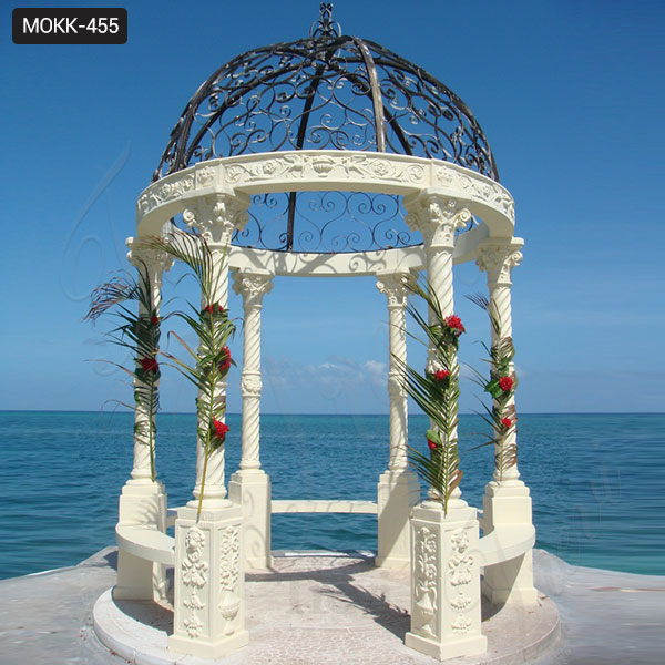 Home Depot Gazebos Outdoor Gazebo Wedding Gazebo Decor Marble Gazebo for Sale MOKK-455