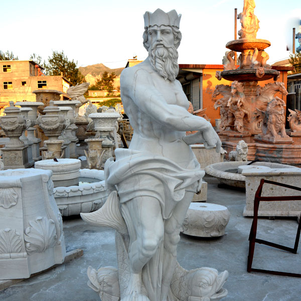 Hand Carved Marble Garden Tired Outdoor Water Fountain