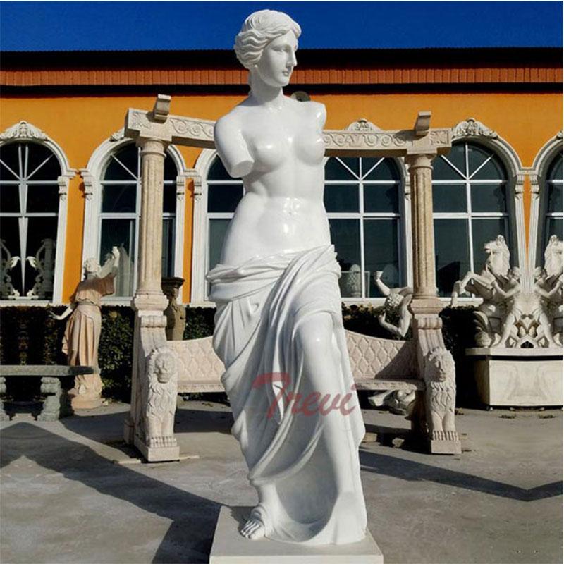 Famous-outdoor-modern-marble-art-sculptures-life-size-Venus-ststue