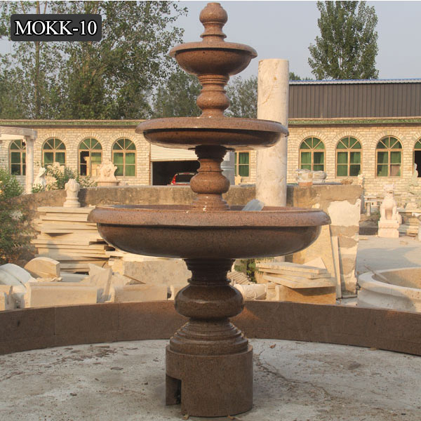 Outdoor Tiered Fountain Water Fountain for Backyard Decor MOKK-10