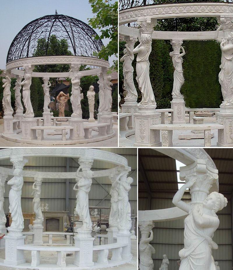 Popular Marble Gazebos Designs Large Gazebo for Sale Outdoor Gazebo
