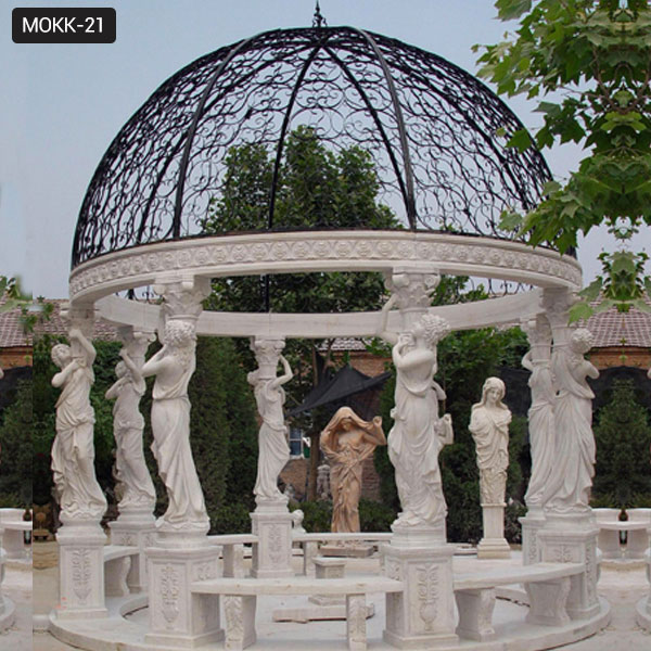 Popular Marble Gazebos Designs Large Gazebo for Sale Outdoor Gazebo MOKK-21