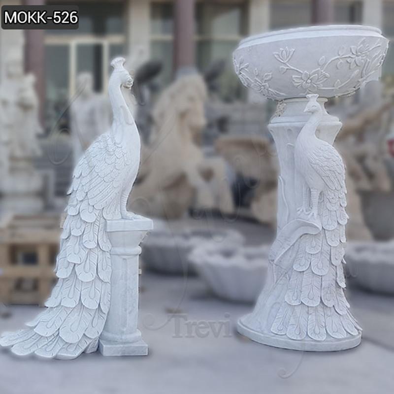 Modern Outdoor Marble Vase for sale