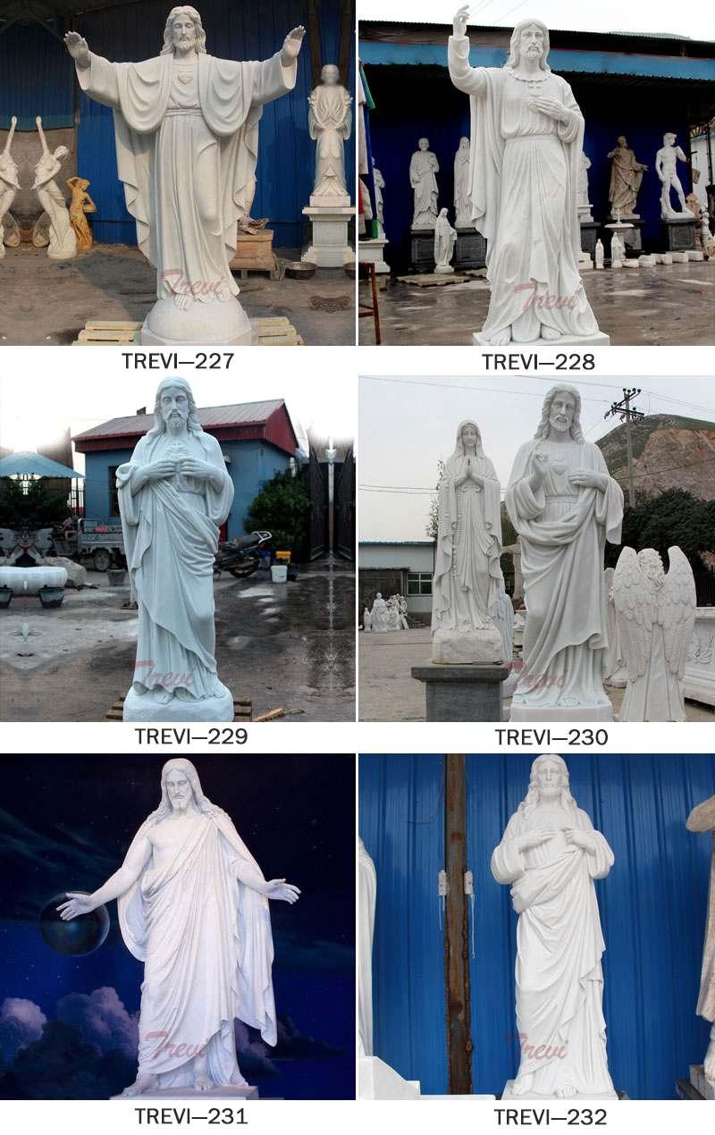 Jesus Christ Religious Garden Marble Sculpture