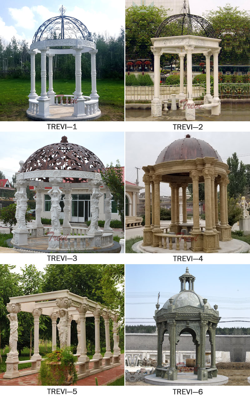 Marble Gazebo for Weddings Ceremony for sale