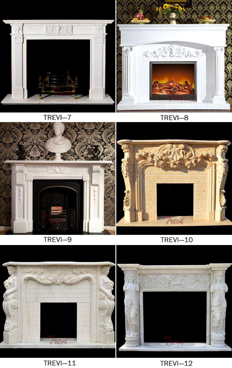 Modern fireplace mental shelf designs
