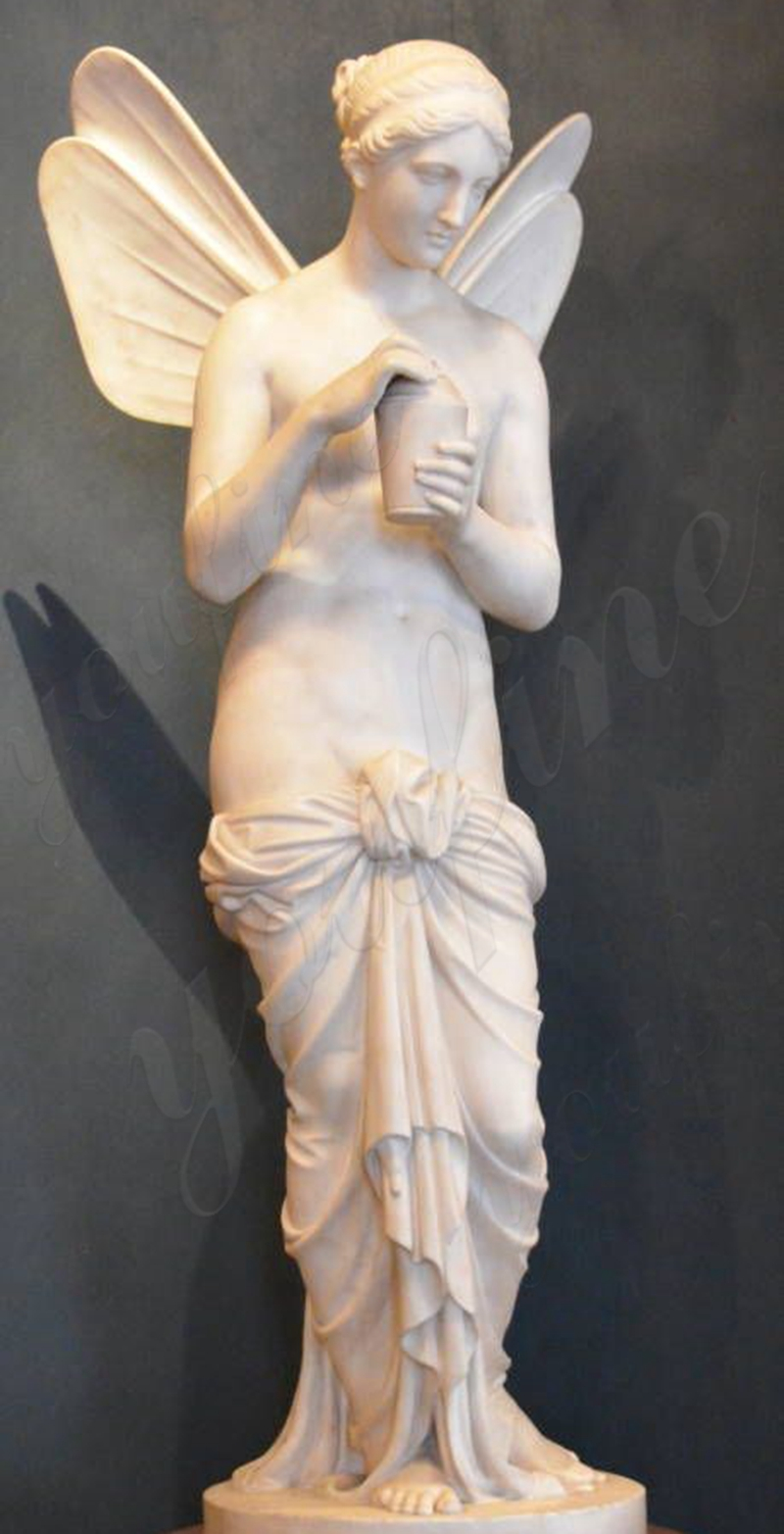Psyche Holding the Flask Angel Statues