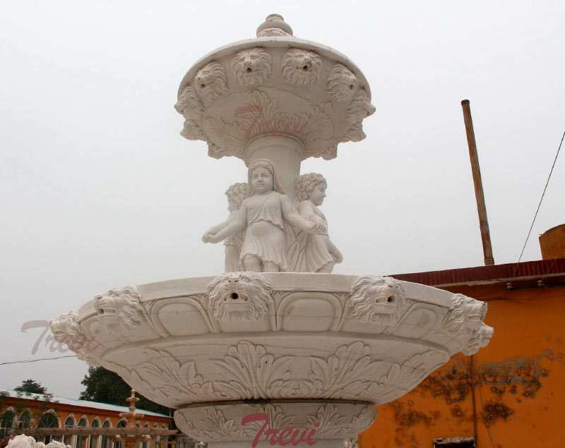 Beautiful Morden Outdoor Tiered Marble Water Fountain Online