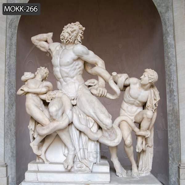 Life Size Famous Marble Laocoon and His Sons Statue Replica MOKK-266