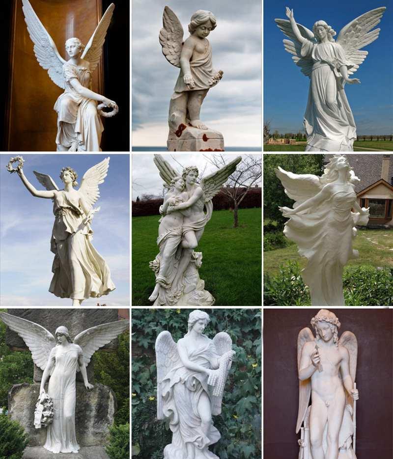 Garden Angel Statue of St Michael sculpture