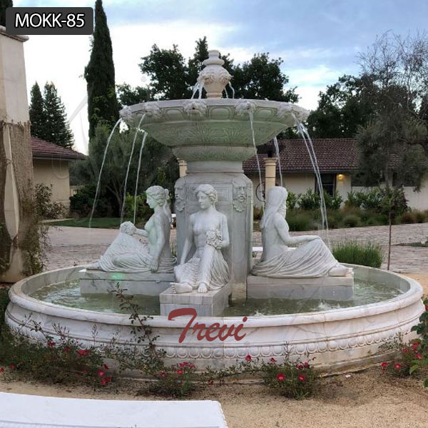 High Quality Outdoor Stone Garden Water Fountain with Competitive Price MOKK-85