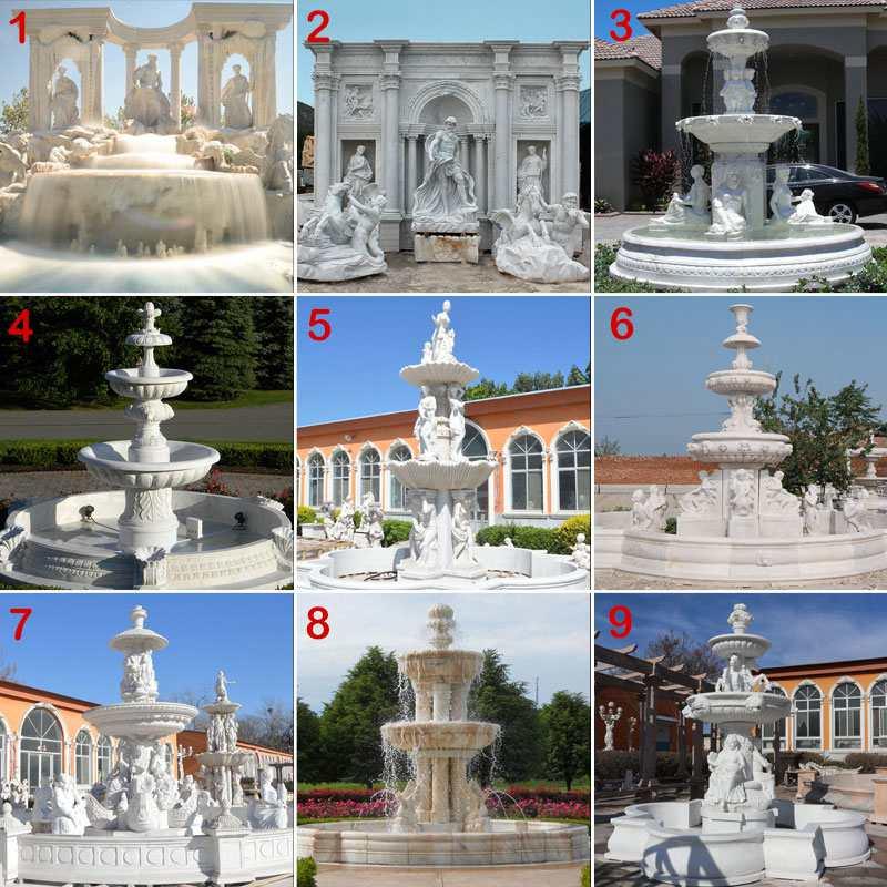 Luxury Marble Garden Decoration Fountain
